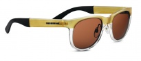 Serengeti Milano Sunglasses Sunglasses - 7659 Satin Shiny Champagne / Drivers
