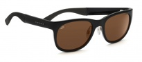Serengeti Milano Sunglasses Sunglasses - 7655 Shiny Black / Drivers Polarized
