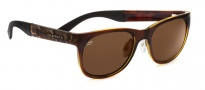 Serengeti Milano Sunglasses Sunglasses - 7656 Shiny Bubble Tortoise / Drivers Polarized