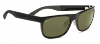 Serengeti Nico Sunglasses Sunglasses - 7645 Shiny Black / 555NM