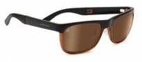 Serengeti Nico Sunglasses Sunglasses - 7643 Satin Dark Brown / Shiny Cognac / Drivers Gold Polarized