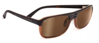 Serengeti Lorenzo Sunglasses Sunglasses - 7650 Satin Dark Brown / Shiny Cognac / Drivers Gold Polarized