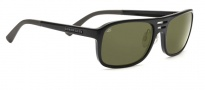 Serengeti Lorenzo Sunglasses Sunglasses - 7648 Shiny Black / 555NM Polarized 