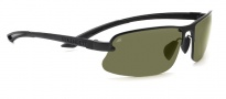 Serengeti Destare Sunglasses Sunglasses - 7685 Satin Black / Polar PHD 555NM 