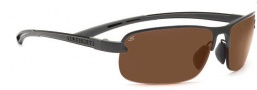 Serengeti Strato Sunglasses Sunglasses - 7682 Shiny Dark Gunmetal / Polar PHD
