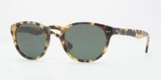 Brooks Brothers BB5002S Sunglasses Sunglasses - 600471 Soptty Tortoise / Solid Green