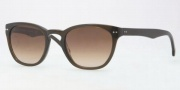 Brooks Brothers BB5003S Sunglasses Sunglasses - 605113 Olive / Smoky Brown Gradient