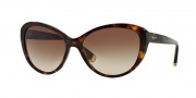 DKNY DY4084 Sunglasses Sunglasses - 301613 Dark Tortoise / Brown Gradient