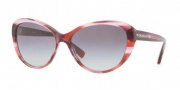 DKNY DY4084 Sunglasses Sunglasses - 352911 Raspberry Tortoise / Gray Gradient