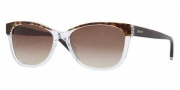DKNY DY4086 Sunglasses  Sunglasses - 353313 Tortoise Crystal / Brown Gradient