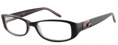 Guess GU 2242 Eyeglasses  Eyeglasses - BLK: Black Over Red 