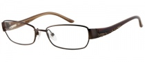 Guess GU 2262 Eyeglasses Eyeglasses - BRN: Brown Satin