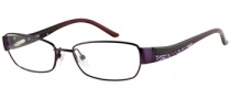 Guess GU 2262 Eyeglasses Eyeglasses - PUR: Purple Satin