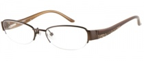 Guess GU 2263 Eyeglasses Eyeglasses - BRN: Brown Satin