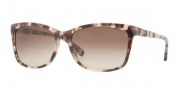 DKNY DY4090 Sunglasses Sunglasses - 354813 Red Tortoise / Brown Gradient