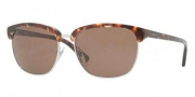 DKNY DY4091 Sunglasses Sunglasses - 355370 Orange Tortoise / Brown
