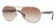 DKNY DY5069 Sunglasses Sunglasses - 101613 Brushed Copper / Brown Gradient