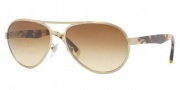 DKNY DY5069 Sunglasses Sunglasses - 11882L Brushed Pale Gold / Brown Gradient