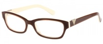 Guess GU 2295 Eyeglasses Eyeglasses - BRN: Brown / Cream 