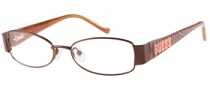 Guess GU 9070 Eyeglasses Eyeglasses - BRN: Brown Satin