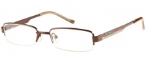 Guess GU 9083 Eyeglasses  Eyeglasses - BRN: Brown Satin