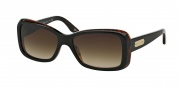 Ralph Lauren RL8066 Sunglasses Sunglasses - 526013 Top Black Havana / Brown Gradient