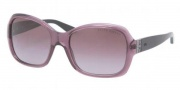 Ralph Lauren RL8075B Sunglasses Sunglasses - 51588H Transparent Violet / Violet Gradient 