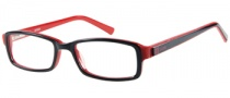 Guess GU 9089 Eyeglasses  Eyeglasses - BLK: Black / Red