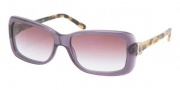 Ralph Lauren RL8078 Sunglasses Sunglasses - 52428H Transparent Violet / Violet Gradient