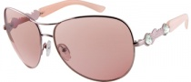 Guess GU 7091 Sunglasses  Sunglasses - RO-14F: Shiny LT Rose