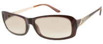 Guess GU 7103 Sunglasses Sunglasses - BRN-1: Dark Crystal Brown