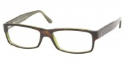 Polo PH2015 Eyeglasses Eyeglasses - 5016 Top Havana on Green Transparent