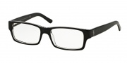 Polo PH2027 Eyeglasses Eyeglasses - 5011 Top Black Crystal