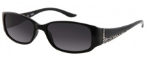 Guess GU 7121 Sunglasses Sunglasses - BLK-3: Solid Black