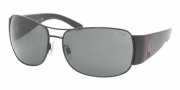 Polo PH3042 Sunglasses Sunglasses - 900387 Shiny Black / Gray