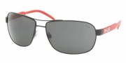 Polo PH3053 Sunglasses Sunglasses - 903887 Matte Black / Gray