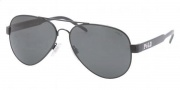 Polo PH3056 Sunglasses Sunglasses - 900387 Shiny Black / Gray