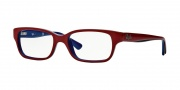 Ray-Ban Junior RY1527 Eyeglasses Eyeglasses - 3577 Top Red on Blue