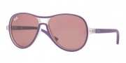 Ray-Ban Junior RJ9055S Sunglasses Sunglasses - 192/84 Transparen Violet / Pink