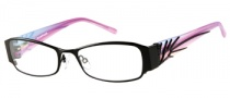 Rampage R 160 Eyeglasses Eyeglasses - BLK: Satin Black 