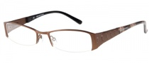 Rampage R 163 Eyeglasses  Eyeglasses - BRN: Satin Brown 