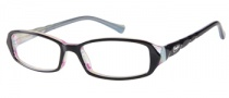 Candies C Abigail Eyeglasses Eyeglasses - BLK: Black Multi