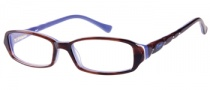 Candies C Abigail Eyeglasses Eyeglasses - BRN: Brown Horn
