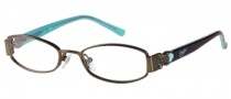 Candies C Beau Eyeglasses Eyeglasses - BRN: Satin Brown 