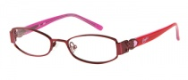 Candies C Beau Eyeglasses Eyeglasses - BU: Satin Burgundy