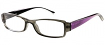 Candies C Donna Eyeglasses Eyeglasses - CRYGRY: Crystal Grey