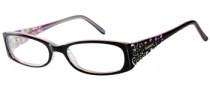 Candies C Hailey Eyeglasses Eyeglasses - BLK: Black Blue