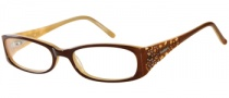 Candies C Hailey Eyeglasses Eyeglasses - BRN: Brown Cream
