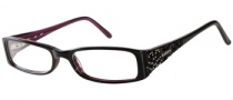 Candies C Harlow Eyeglasses Eyeglasses - BLK: Black Pink