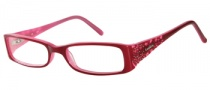 Candies C Harlow Eyeglasses Eyeglasses - BU: Burgundy Pink
